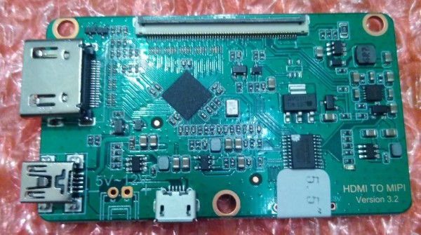 Wanhao D7 HDMI MIPI LCD driver board