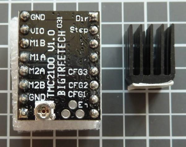 TMC2100 Klon inkl. Kühlkörper