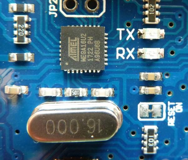 Arduino UNO R3 kompatibles board DIP